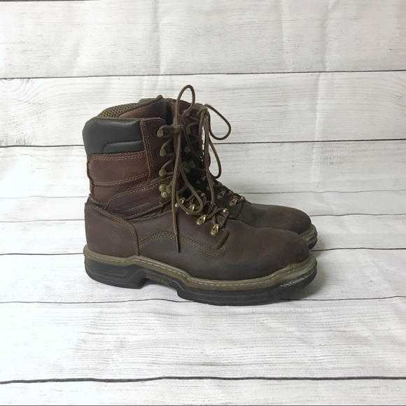 a6cff5529cd Men's Wolverine Multishox Work Boots Size 8.5